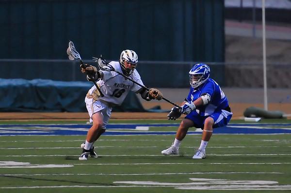 LCC Varsity Lacrosse vs Rancho Bernardo 4.20.12