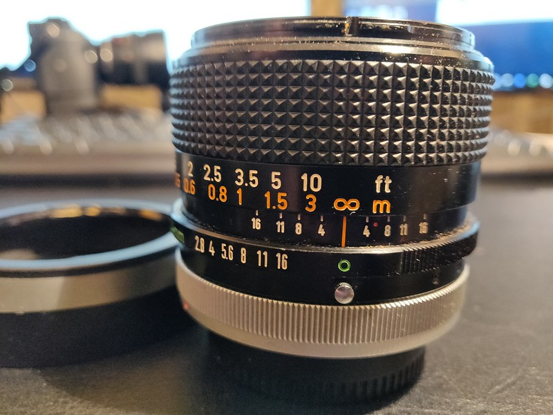 Canon FD 24 mm 2.8 S.S.C. - Serial N200 & 40368 004.jpg
