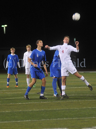 PW loses to Bensalem in Boys Soccer