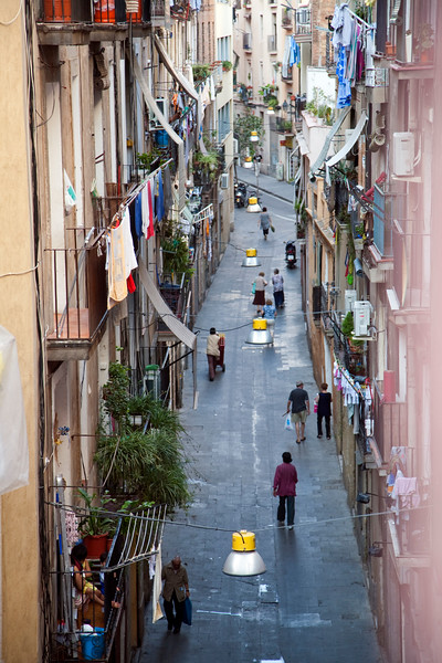 Cera (Wax) street, Raval quarter, town of Barcelona, autonomous commnunity of Catalonia, northeastern Spain