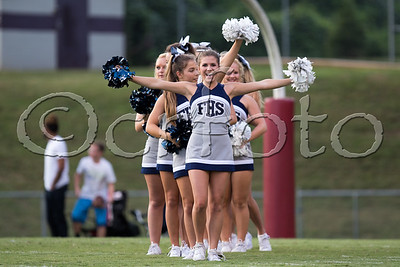 FHS V vs. OR (9-2-16) Cheerleaders