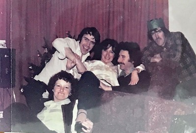 Chris's Party in the 70's