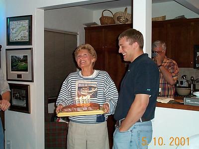 Brian Kothe's Birthday - May 10, 2001