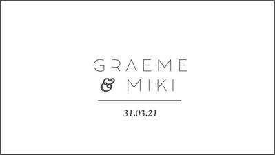 31.03 Mikaila & Graeme