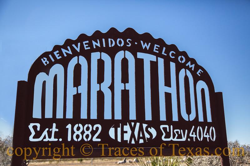 Title: Marathon Memory<br /> <br /> Comments: Marathon is stark, lonely ------ and compelling. <br /> <br /> Location: Marathon