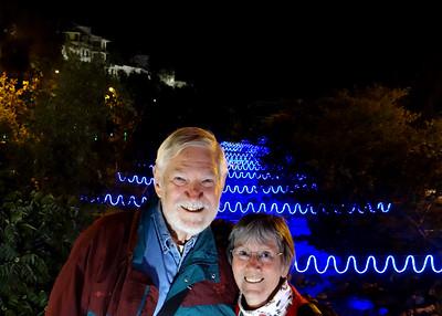12/23/15 - Night Walk Along Tomebamba with Christmas Lights