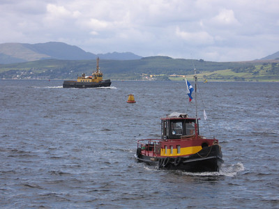 Small Vessels on the Clyde