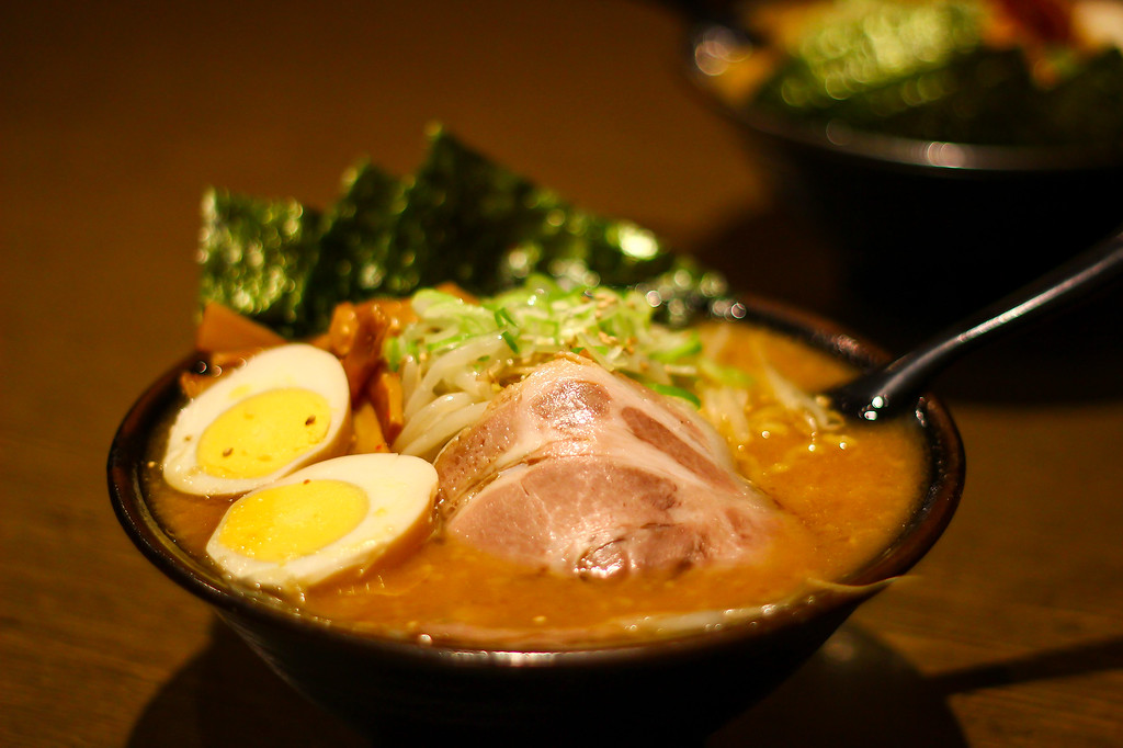 Tasty ramen to be had at the festival.