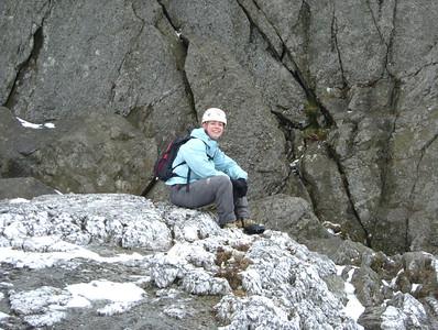 20050417 - Scrambling in Snowdonia