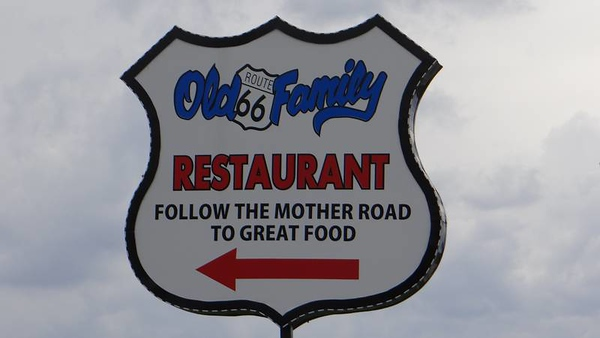 Old Route 66 Family Restaurant in Dwight