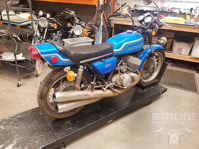 Kawasaki 1972 H2 750 Reference Photos