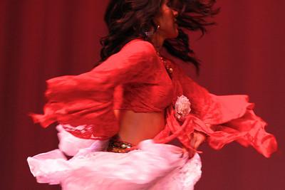 Caravan of Dancers performance, Little Havana, Miami, Nov. 15, 2013