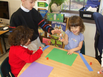 Kindergarten Circles Hanukkah Celebration