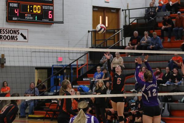 October 22, 2018 - Hillsboro Litchfield Volleyball