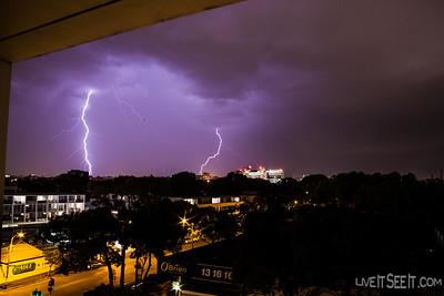Sydney Lightning - December 4 2014