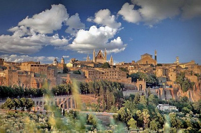 ITALY - UMBRIA - TOWNS & CITIES EXTERIORS