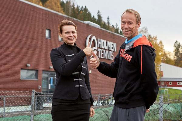 Holmen Tennis - oppgrading 21.11.17