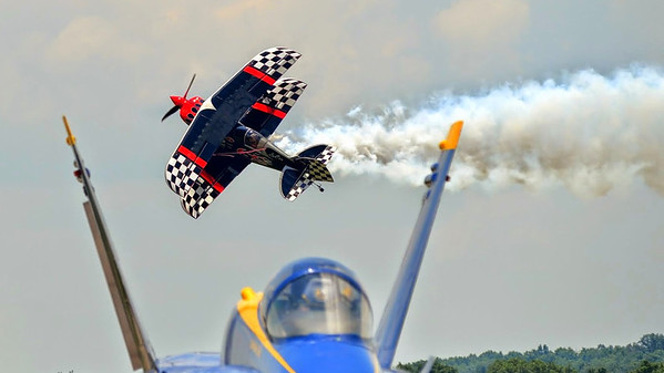Blue Angels over Smyrna 2014