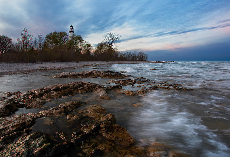 Concealed Light - Windpoint Lighthouse (Windpoint, WI)