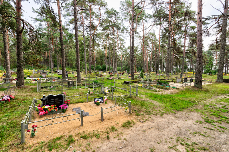Waldfriedhof am Peipusee