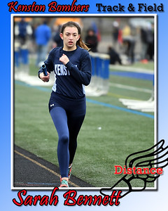 Girl's Track Cards