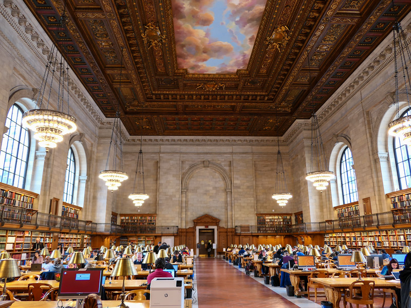 Rose Reading Room at the New York Public Library