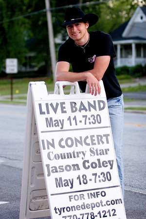Jason Coley at The Tyrone Station