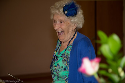 Mona Bell's 90th