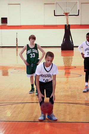 MS Basketball vs. Holy Cross