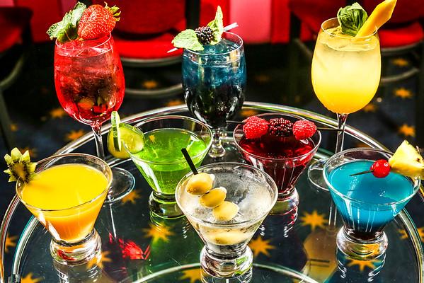 Pickwick & Frolic Summer Drinks & Food