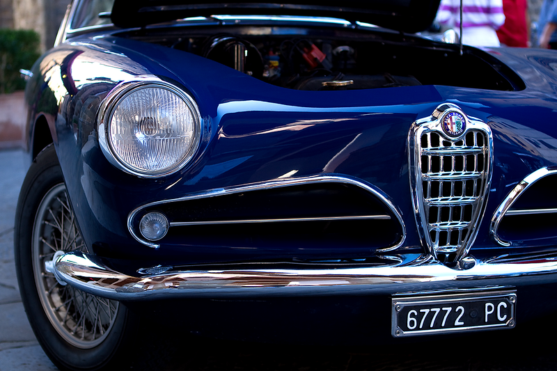 """""""Alfa Romeo"""", Montalcino, Italy"""