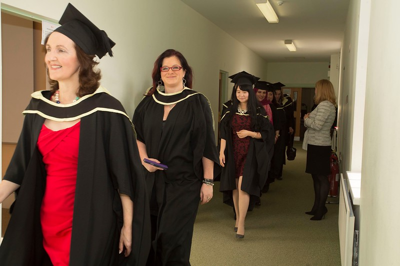 28/10/2015 Image Free to Use. Conferring at Waterford Institute of Technology. Photo; Mary Browne