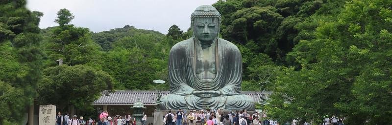 "Kamakura Daibutsu  "" Great Buddha,"""