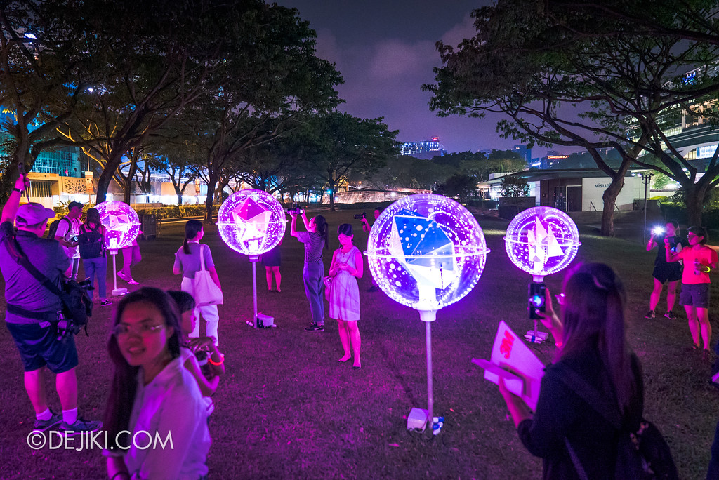 Singapore Night Festival 2018 - Night Lights / Orbit by LiteWerkz wide