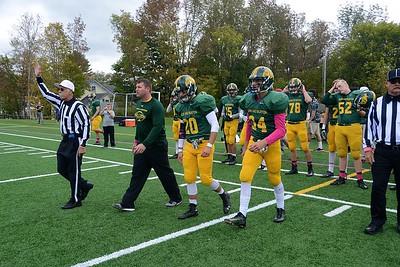 2016 BBA Varsity Football vs North Country II photos by Gary Baker