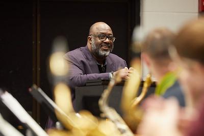 2018 UWL Fall Jazz Jeff Erickson Masterclass Carl Allen Drummer