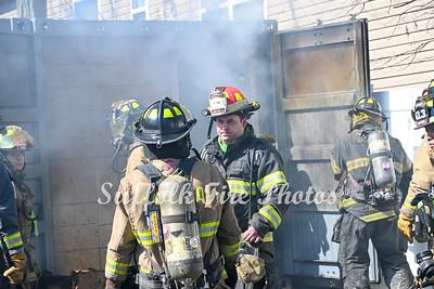 Mastic Cigarette Trailer Fire 3/27/21