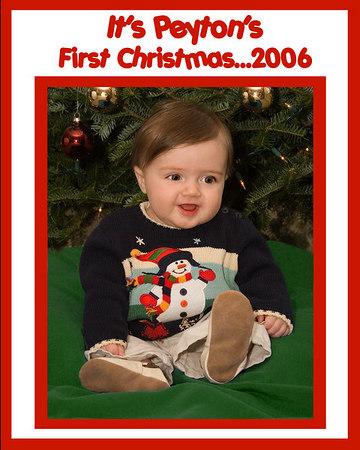 Peyton's 1st Christmas