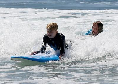 2017_09_23 Surf Camp 26 P2 Boy Blonde Hair WS Black w Red