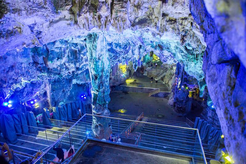 Inside the Rock of Gibraltar