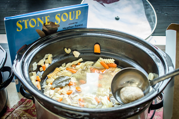 Pre-School Celebrates Thanksgiving with Stone Soup