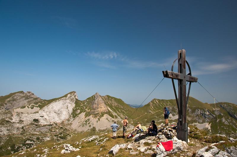 Haidachstellwand-Gipfel