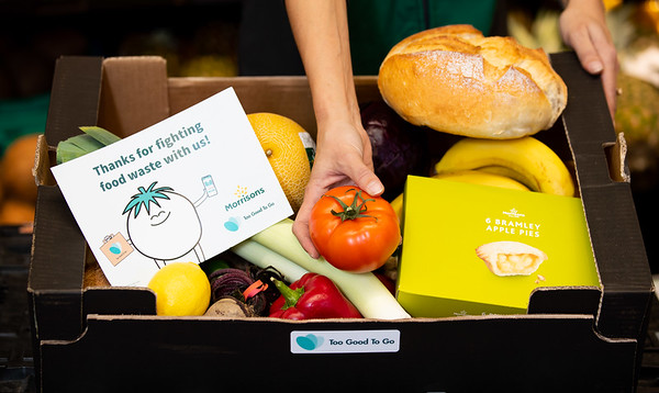 25/11/19 - MORRISONS TO OFFER BOXES OF UNSOLD FOOD IN FIGHT AGAINST FOOD WASTE  WITH TOO GOOD TO GO APP