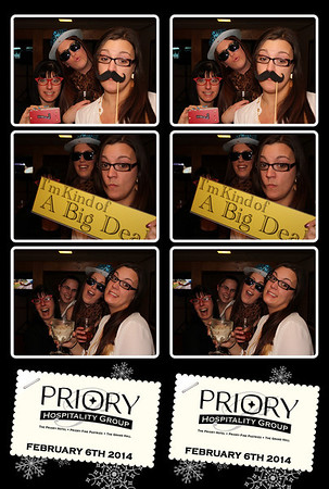 The Priory Holiday Party 2.6.14