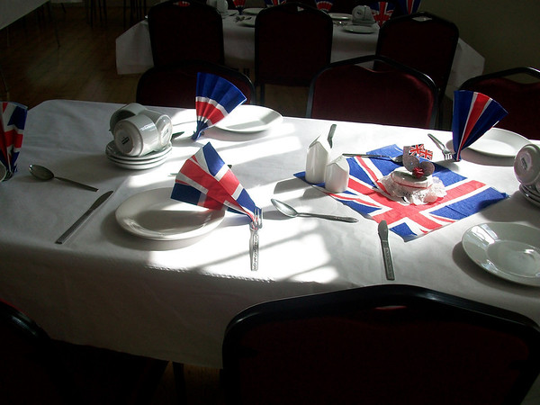 Mothers' Union Jubilee Lunch