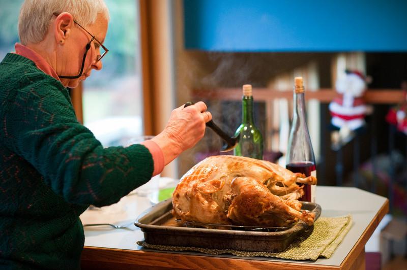 2012 Christmas - turkey