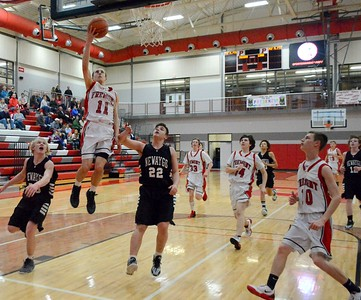 Boys JV Basketball - 2/10/2015 Newaygo (RT)