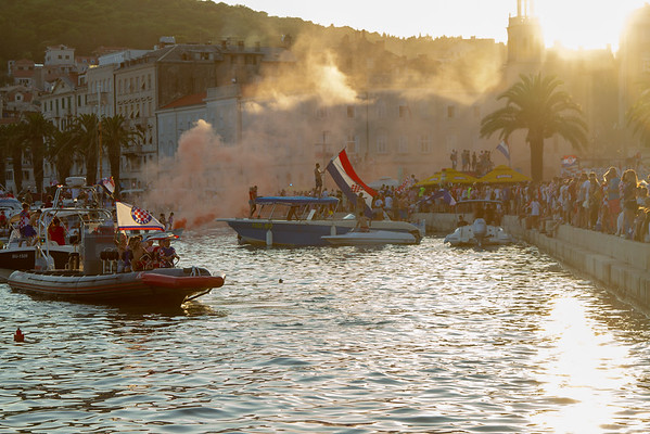 Split, Croatia & World Cup Celebration