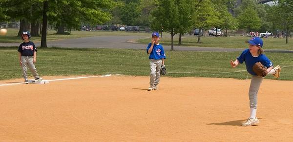 Alec and Benjy Baseball - May 15, 2005