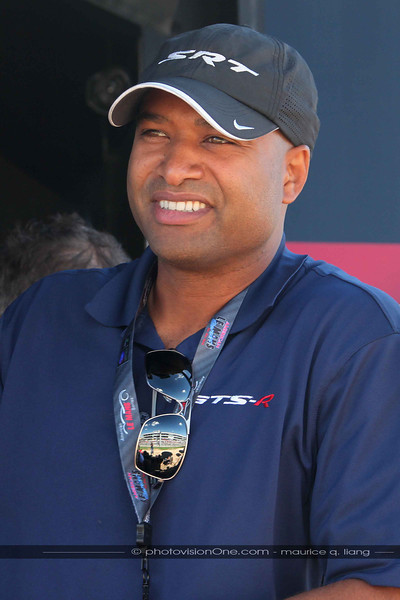 Ralph Gilles, President and CEO of SRT/Motorsports stops by for a visit.